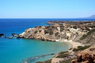 ammoudi beach in makrygialos crete
