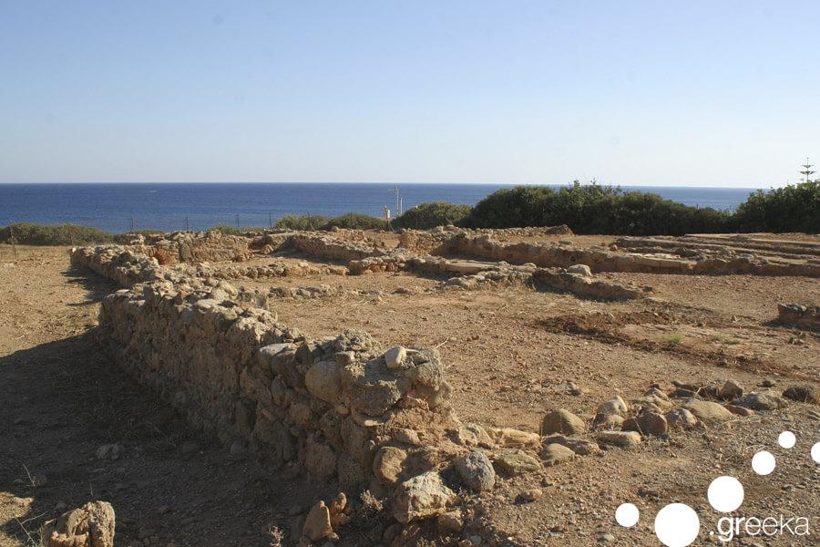 Ancient villa Makry Gialos